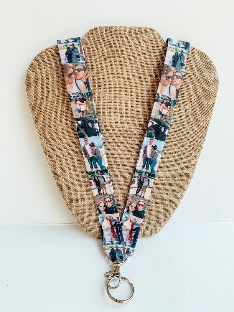 Photo Lanyard Lanyard with Pictures Picture Lanyard image 0