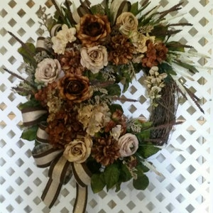 Bread Wine Cork Wreath Summer  Kitchen,Dining Room D\u00e9cor SHIPPING INCLUDED Tuscan Kitchen Wreath Cheese Silk Floral Grapevine Wreath