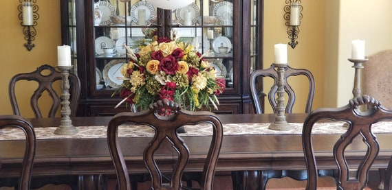 Fl Arrangement Xl, Formal Dining Room Flower Arrangements