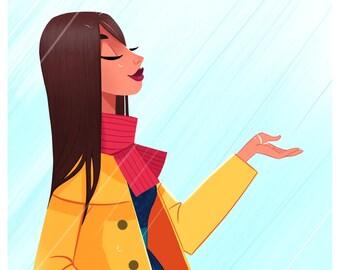 Rainy Day | Art Print