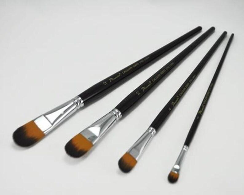 BG270204 Phoenix filbert synthetic nylon paintbrush #04