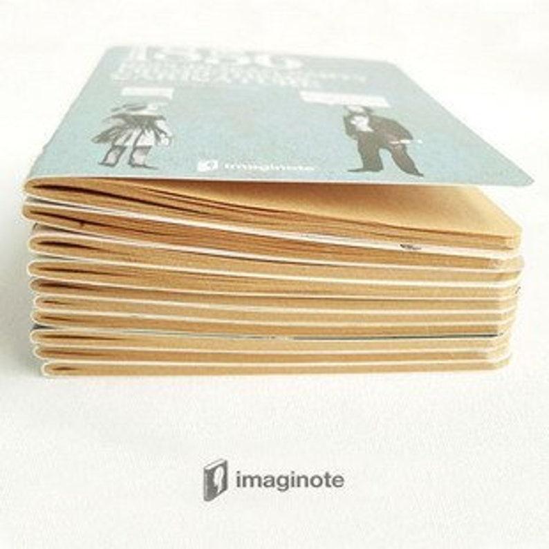 JI0007 Imagionte Sketch Book Leopard 11.9x15.9cm 48Pg Limited