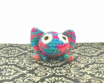 Frog/Baby Frog/Crochet Frog/Ready to Ship/Stuffed Frog/Rainbow Frog/Plush Frog/Soft Toy/Amigurumi/Aquatic/Nursery/Sea Creature