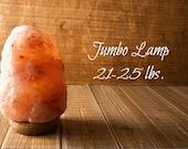 Himalayan Salt Lamp 21-25 lb SHIPS FREE