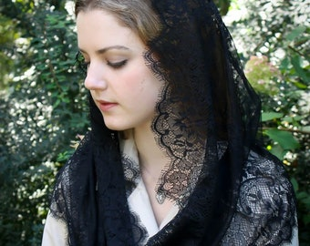 virtù miniatura Madonna Evintage Etsy delle rose Veli ricamato PXAqAg