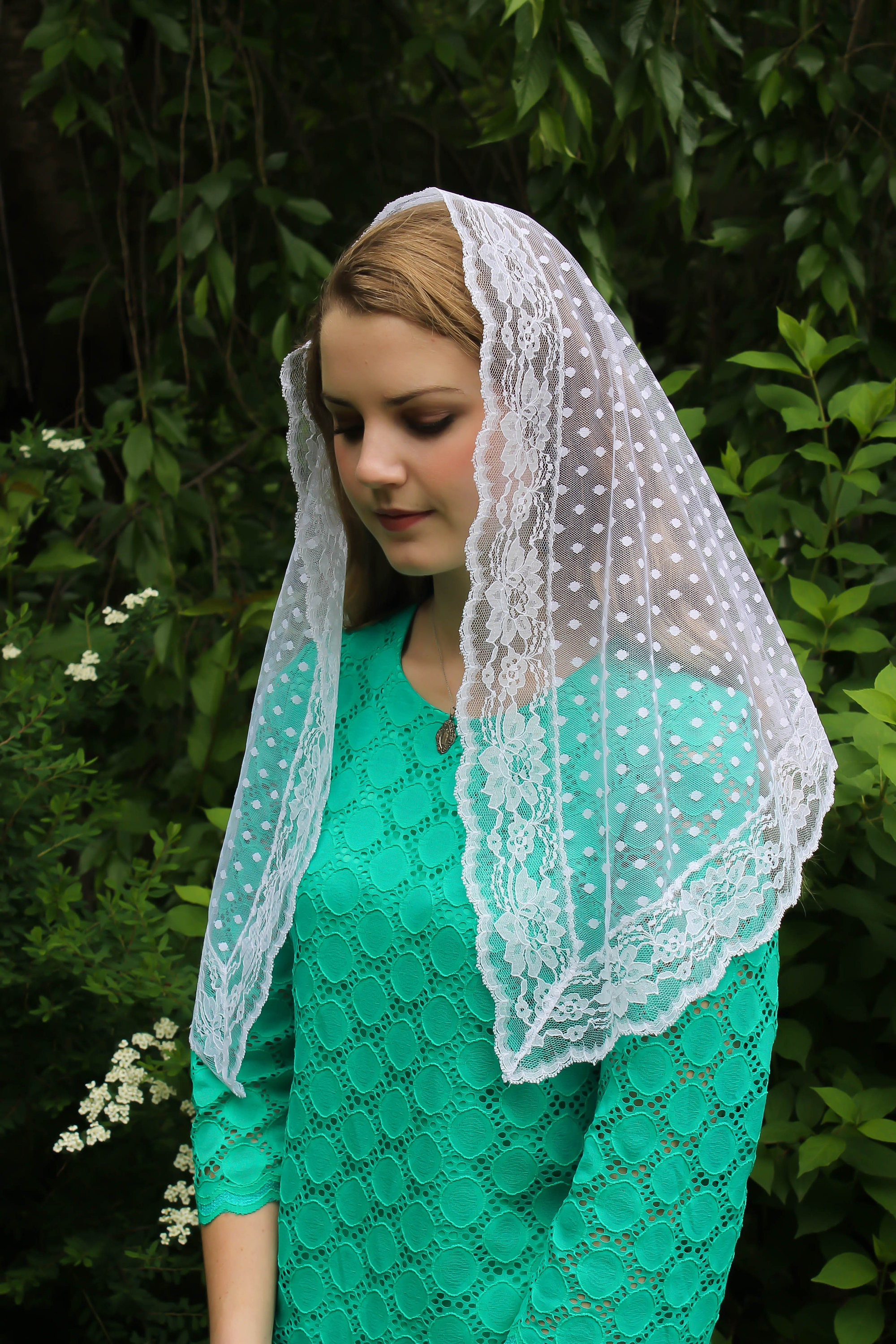 Traditional catholic chapel veils