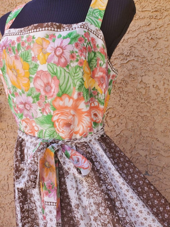 70s Miss Elliette California lightweight maxi dres