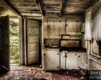 Abandoned House Kitchen Urbex Urban Decay Photography