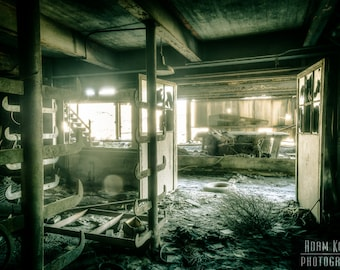 Abandoned Factory Room - Urbex, Urban Decay Photography