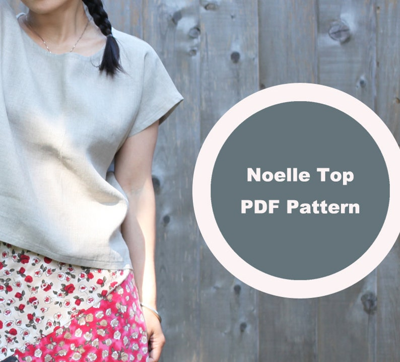 Easy Cute Top Drop Shoulder Top Sleeveless Woven Tee PDF image 0