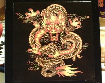 Dragon Keep Wooden Cigar Box