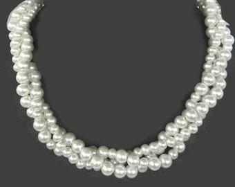 Bridal Jewelry - Pearl Bridal Set - Bridal Jewelry - Wedding Jewelry - Bridesmaid Gift - Bridesmaid Jewelry - Pearl Bridal Jewelry - Pearl