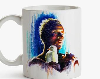 Mug, Tribute to Blade Runner, Ridley Scott - Replicant 2