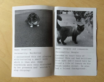 CATODEX 2: Another Catspotting Zine