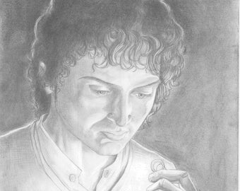 Frodo Pencil Illustration