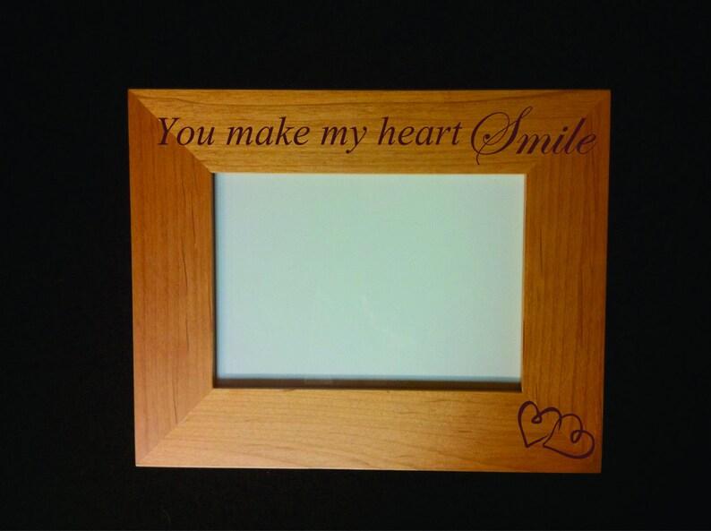 Girlfriend Frame 8 x 10 Engraved Love Frame Boyfriend Wife Husband Mother Daughter Mother Son