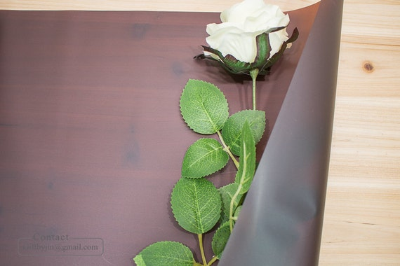 Wasserdicht Blume Blumenstrauss Geschenkpapier Papier Rolle Etsy