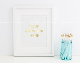 Bright and Clean Styled Stock Photography Frame Image