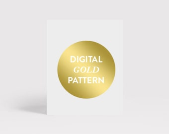 Digital Gold Foil Pattern for Download