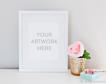 Styled Stock Photography White Frame