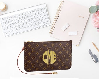 Monogram Decal for Louis Vuitton Pochette Neverfull