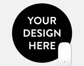 Custom Round Mouse Pad for Design