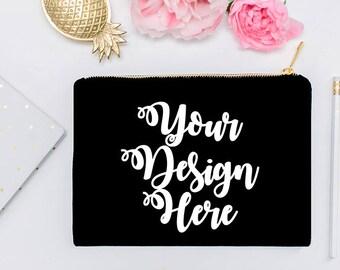 Bridal Gifts Custom Makeup Cosmetic Bag