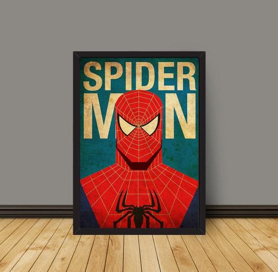 POSTER Spider Man Minimalist