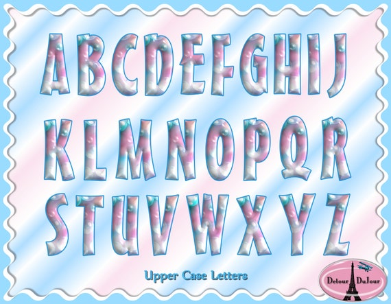 Digital Fonts Alphabet Alphabet Clipart Letters Numbers Bubble Gum Bubble Alphabet Clip Art Digital Children/'s Fonts