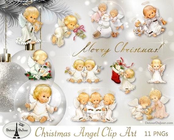 Christmas Angel Clipart.11 Pngs Digital Angel Clip Art Christmas Angel Clipart Cherubs Printable Christmas Angel Images Angel Wings Clipart