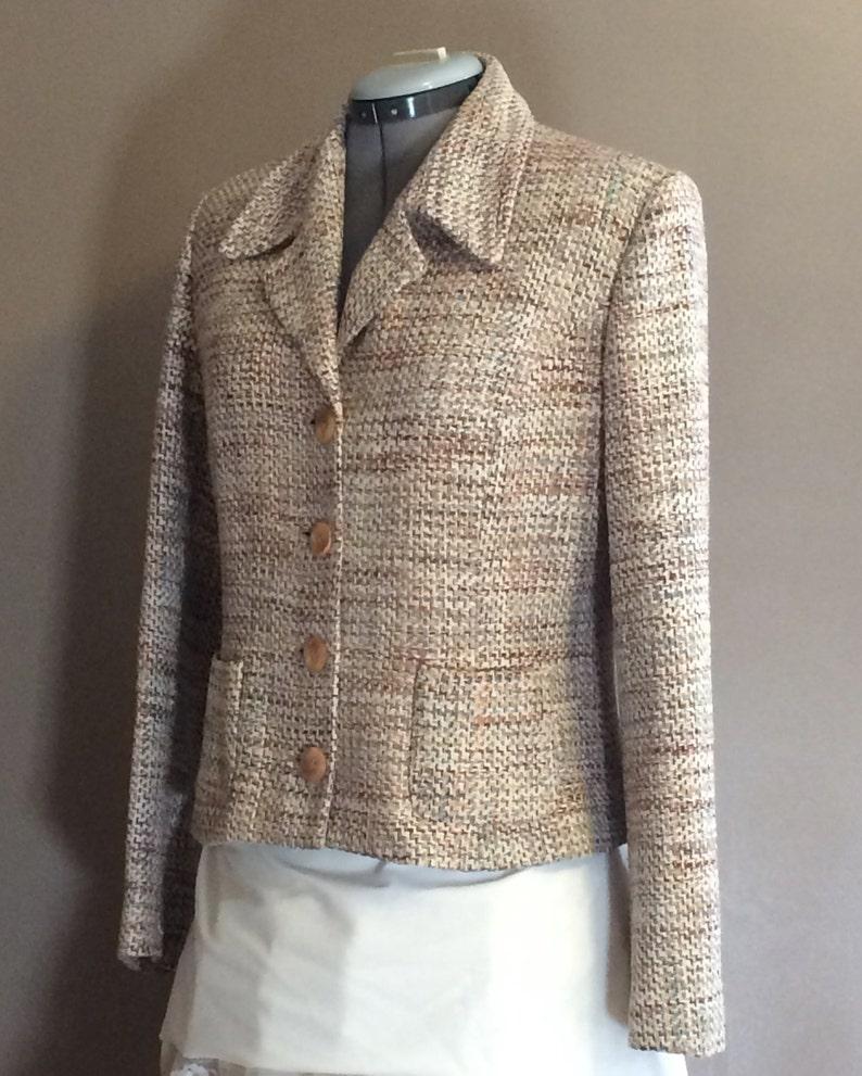 1960/'s Silk Tweed Blazer