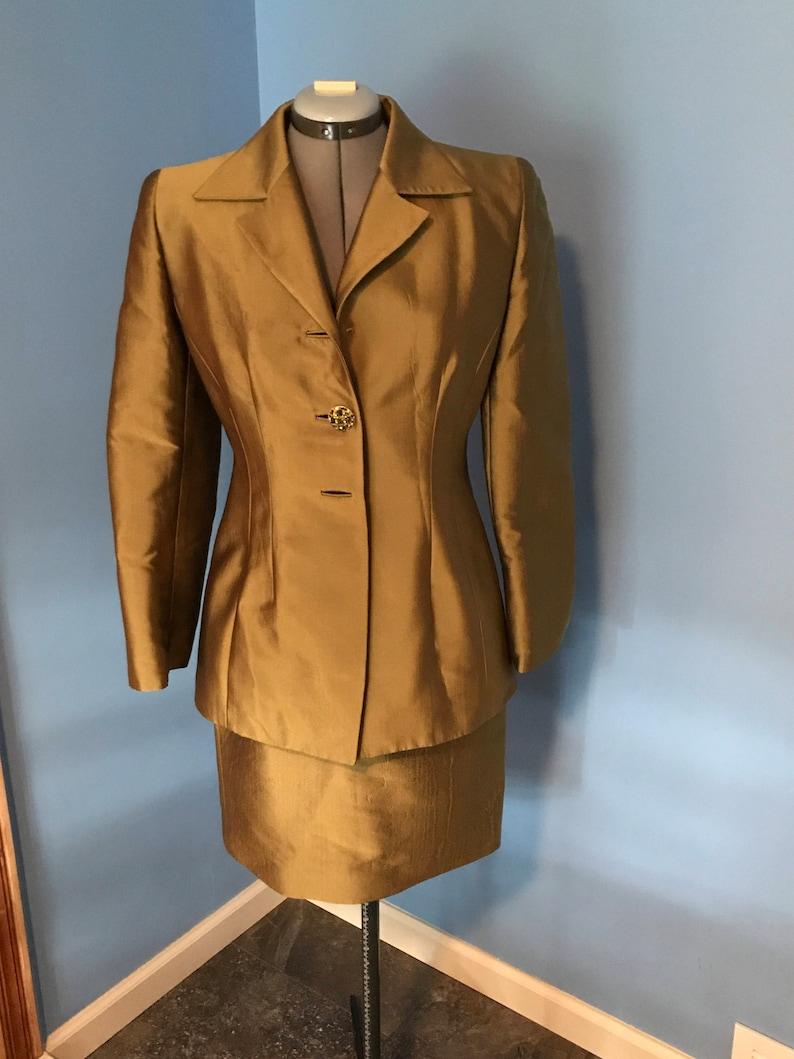 Vintage Badgley Mischka Evening Suit