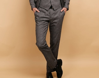 WOOL & TWEED PANTS