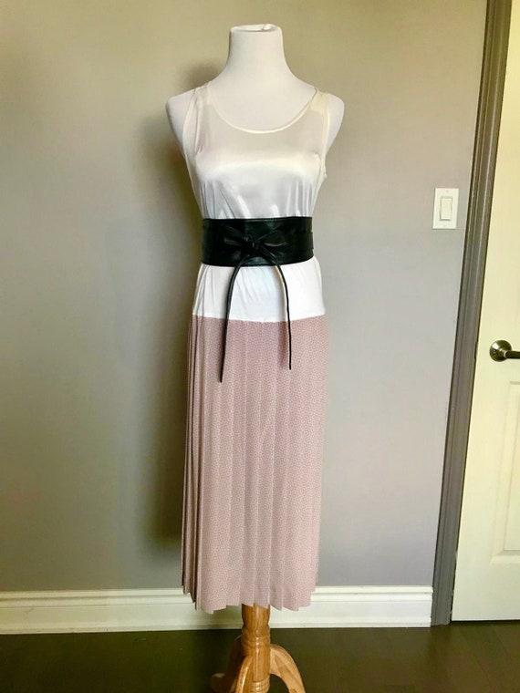 Soft Minimalist Romantic Dress