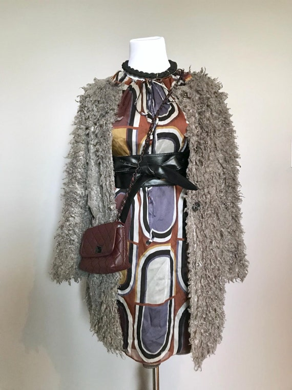 Vintage Silk Chiffon Dress