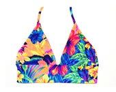 Vivie Comfort Bralette Reversible Bikini Top