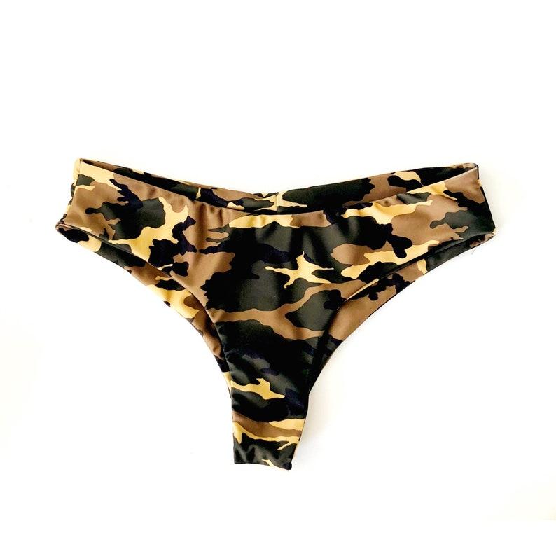 ac010c5411e63 Camo Cantina Bikini Bottom Reversible Bikini Bottom ready