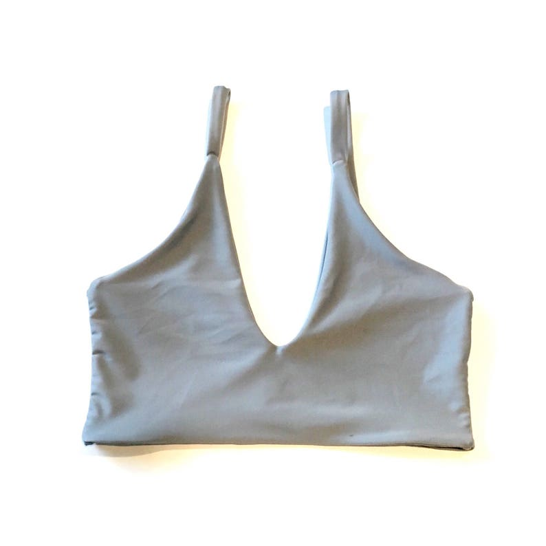 0a84c76744f7a Shay Bikini Top Long line style top seamless and reversible