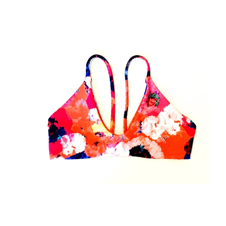 773650d95a846 Barre Bikini Top No ties on neck made for comfort and