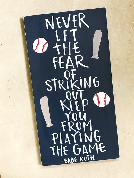 Boy Nursery Sign Vintage Baseball Wall Decor Baseball | Etsy
