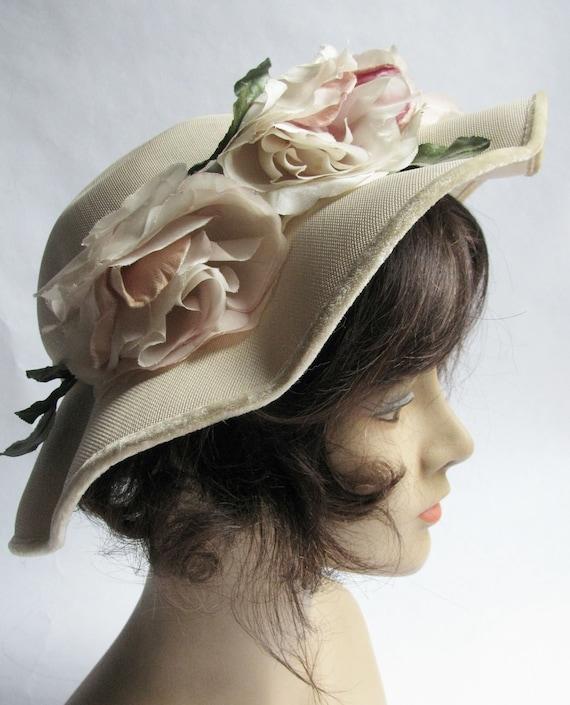 Valerie Modes Flower Hat
