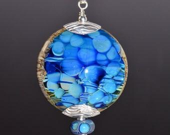 Handmade Glass Focal Bead