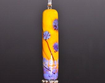 Handmade Glass Focal Bead Pendant