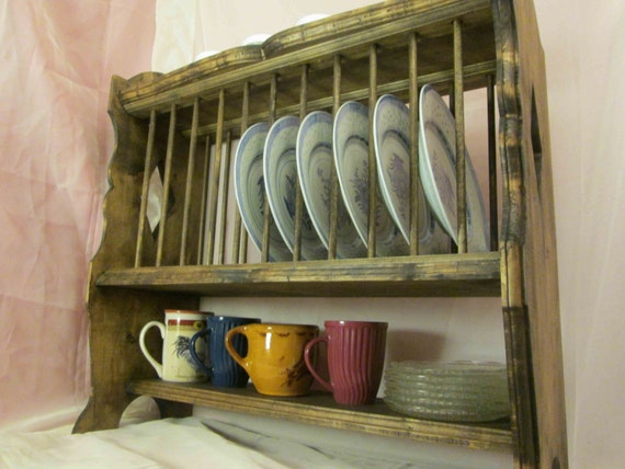 & Plate Rack French Provincial Style Hanging \u0026 Free-Standing