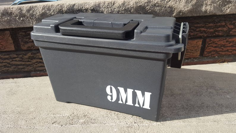 9mm Ammo Can Box Labels - Reloading Labels - Set of 4