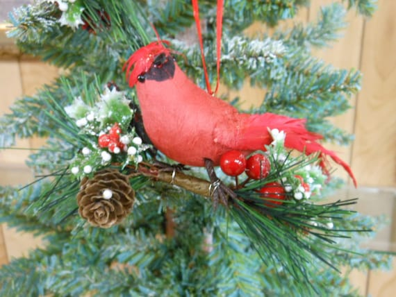 image 0 - Red Cardinal Christmas Decorations