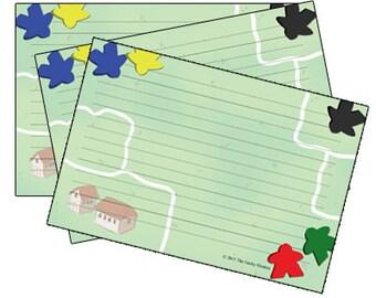 Meeple Recipe Cards
