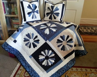 Sofa throw or made to measure quilt.