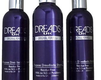 Shampoing dreadlocks - 3 bouteille «Value pack» dread shampooing supprime les résidus de clarifier rafraîchit dreads