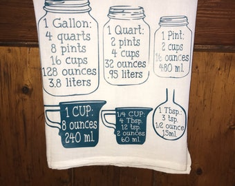 Measurements kitchen towel